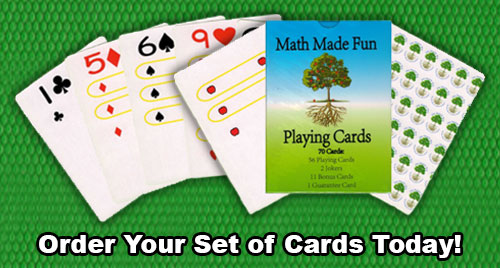 Math Made Fun Playing Cards